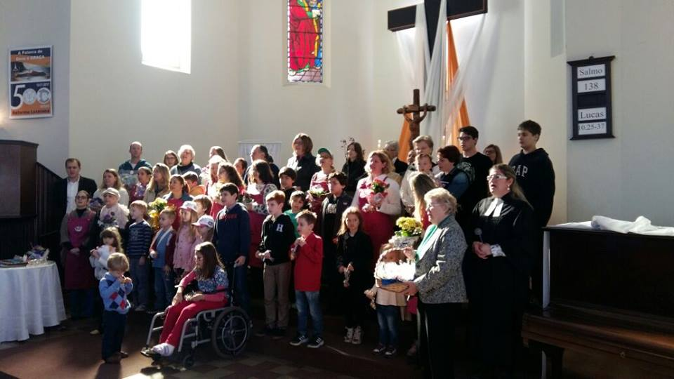 90 anos- Culto Infantil